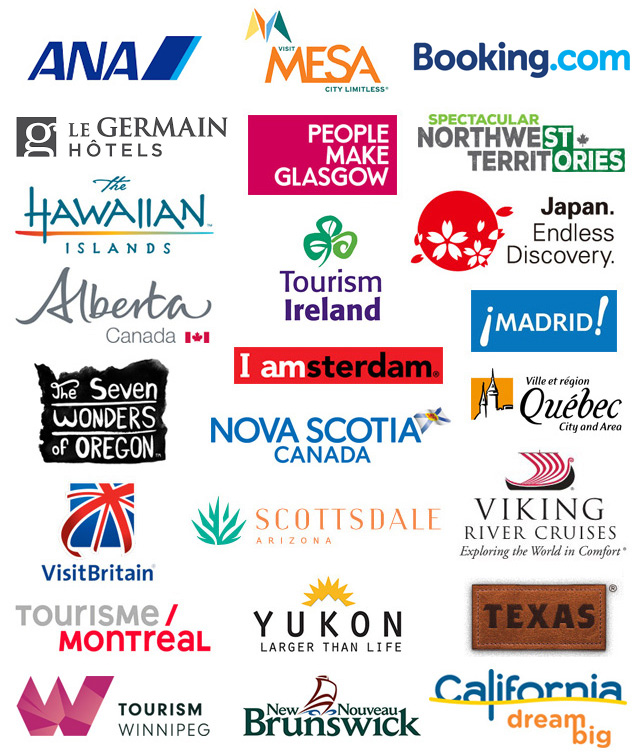 travel partner logos