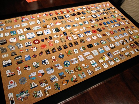 Olympic pin collection