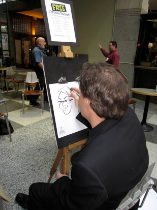Ted Couling, Caricaturist