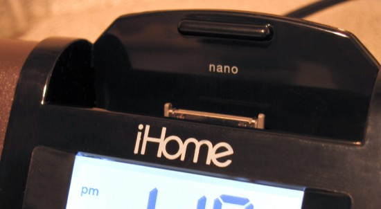 The Very Portable iHome iPod Dock   Vancouverscape