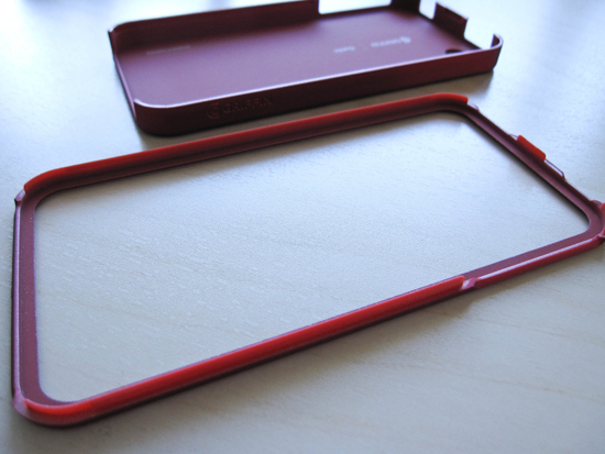 Outfit Ice for iPhone4 components