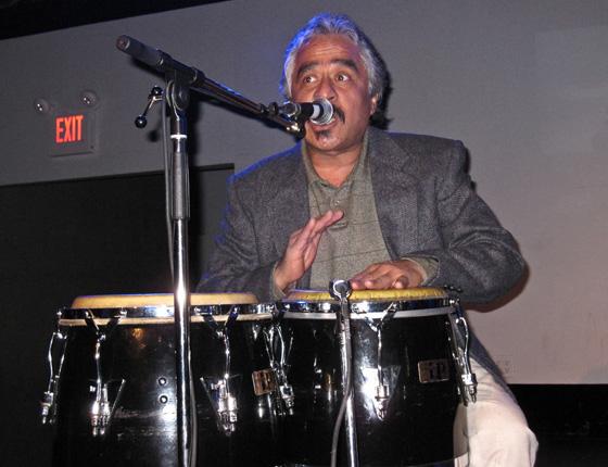 Rumba Calzada's drummer