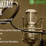 A Green Party Speakeasy