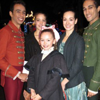 Nutcracker cast at Canuck House