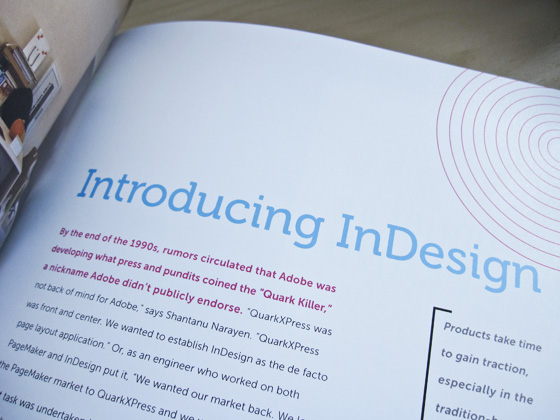Adobe Page by Page book spread