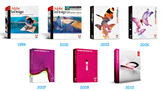 Adobe 10 years of software