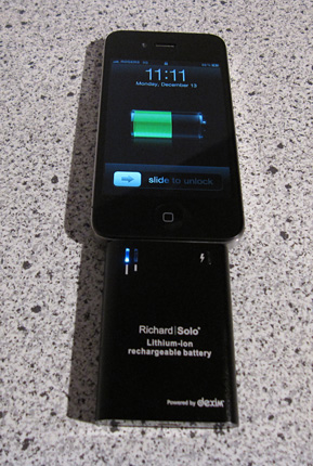 Richard Solo battery pack long bar