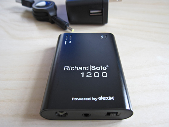 Richard Solo DX007 battery pac