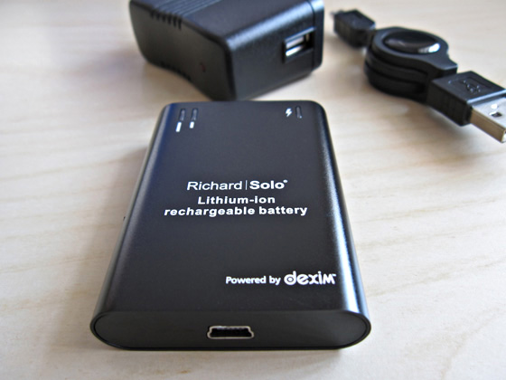 Richard Solo DX001 battery pack