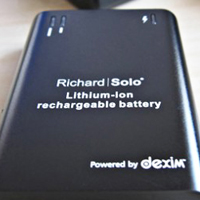 Richard Solo battery pack
