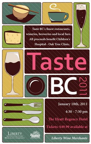 taste bc poster