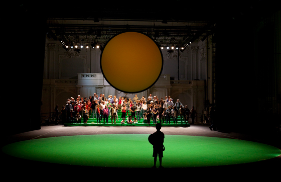 100% Vienna stage set