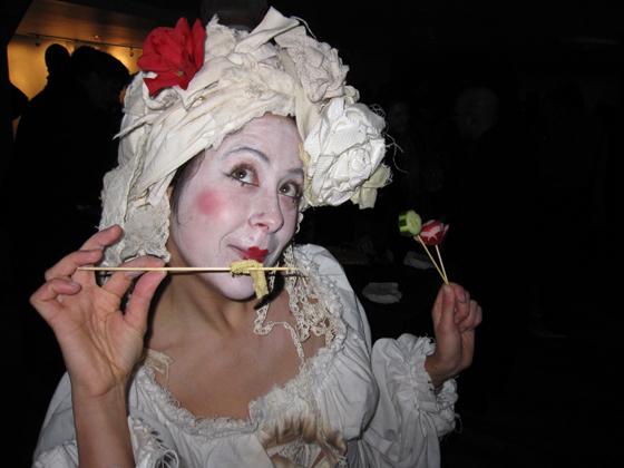 Dusty Flowerpot Cabaret Dancer