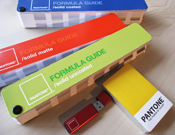 Pantone products and books