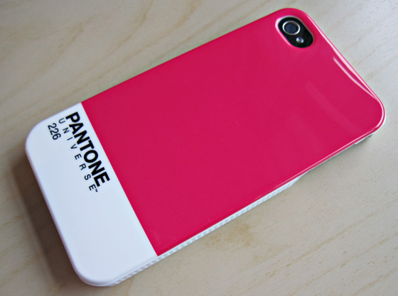 Pantone case rear view