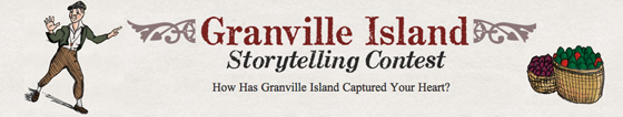 Storytelling contest banner
