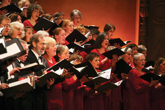 Vancouver Bach Choir close-up