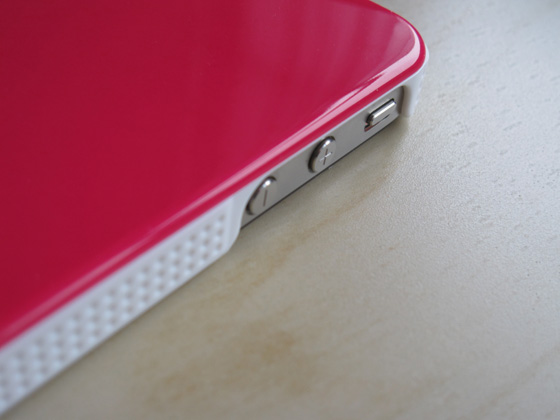 iPhone 4 case detail