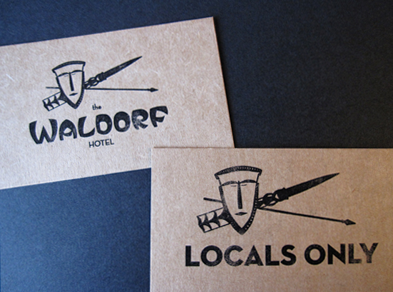 Locals Only card