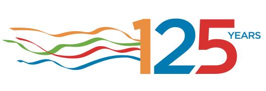 Vancouver 125 celebration logo