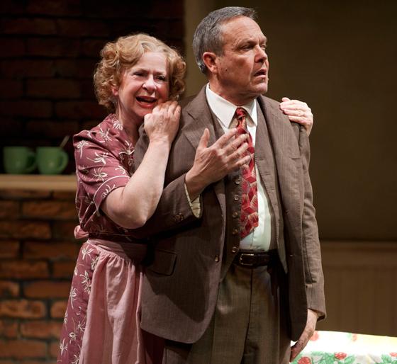 Donna Belleville and Tom McBeath