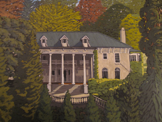 Hycroft House painting