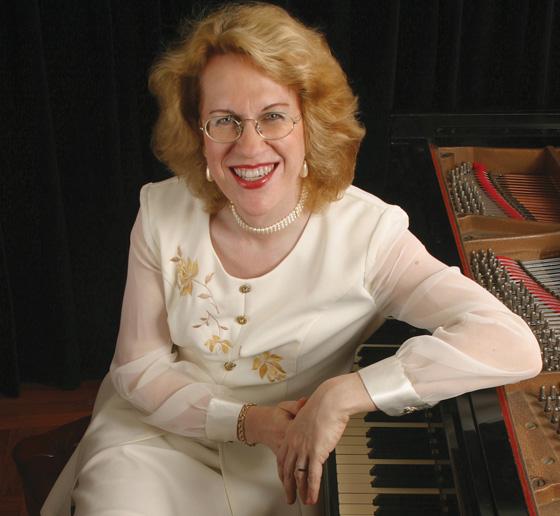 Pianist Sara Davis Buechner