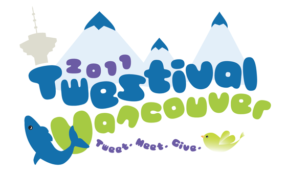 YVR Twestival logo designed by yours truly