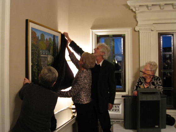 Painting Unveiling