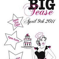 Big Tease party banner