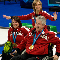 Paralympic curling team