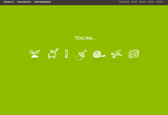 Icebreaker website tracing station screen
