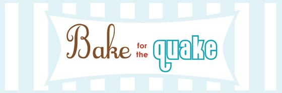 Bake for the Quake banner