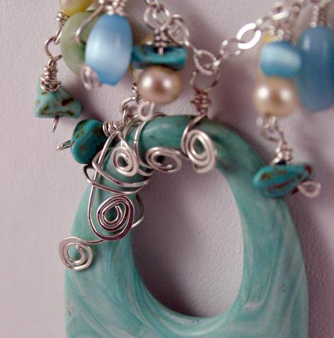 Caymen Island Fringe necklace