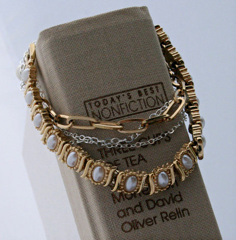 Morning Pearl Layered Bracelet