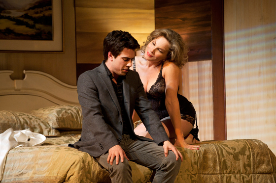Kayvon Khoshkam and Celine Stubel