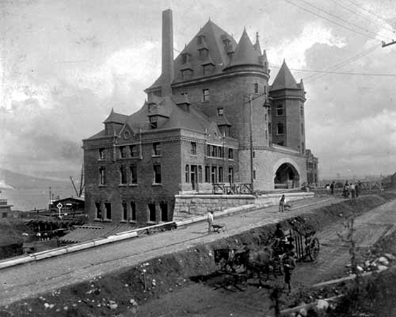 CP Station Vancouver 1884