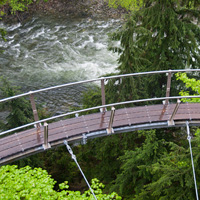 Cliffwalk at Cap Suspension Bridge
