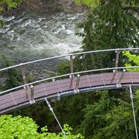 Cliffwalk at Cap Suspension Bridge