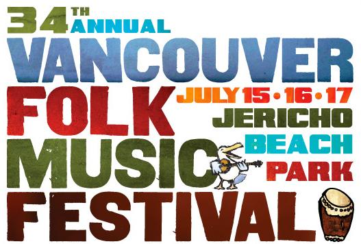 Vancouver Folk Festival Banner