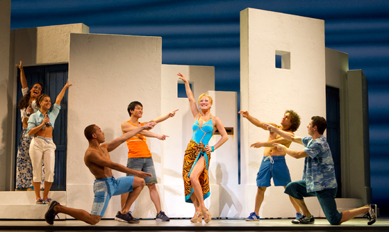 Mamma Mia! North American tour cast