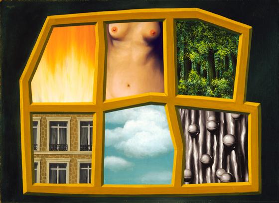 René Magritte The Six Elements