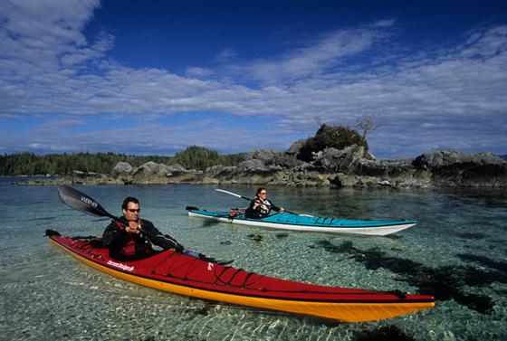 Pacific Rim kayaking