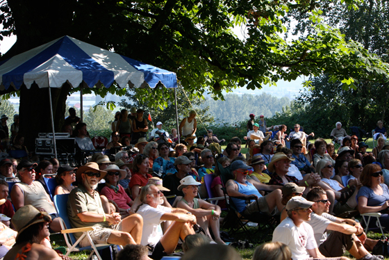 The crowd at Shady Grove