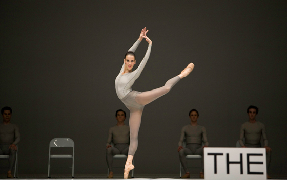 Sonia Rodriguez with Artists of the Ballet, the second detail