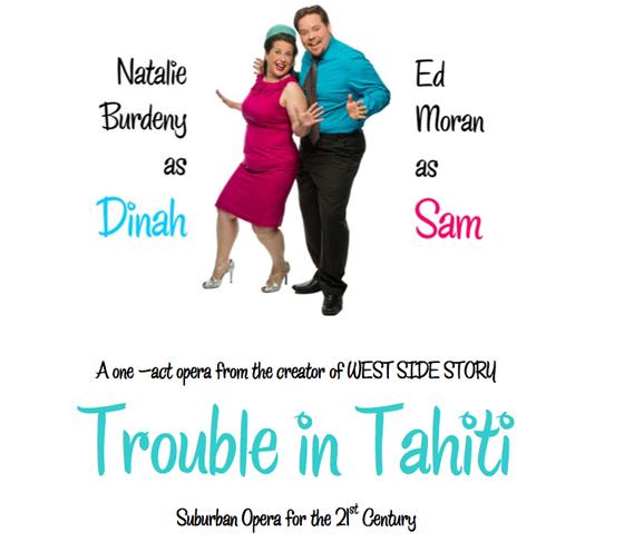 Trouble in Tahiti poster