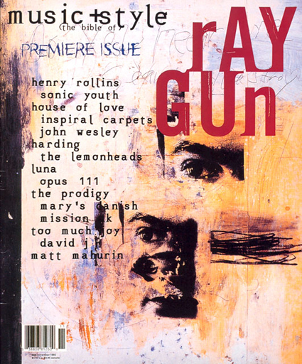 Raygun Magazine cover