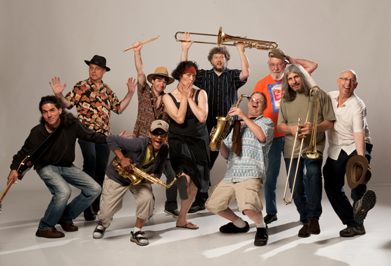 Carnegie Jazz Band. Photo credit: David Cooper