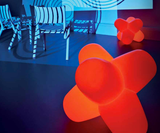 Fluoro chair, Jack lights