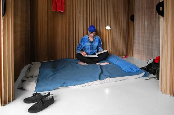 Molo Design's soft shelter